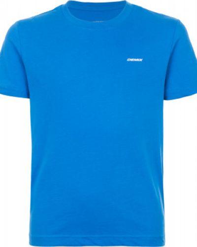 Спортивная футболка прямая хлопковая Demix