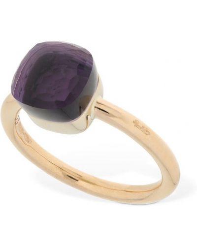 Кольцо золотое с аметистом Pomellato