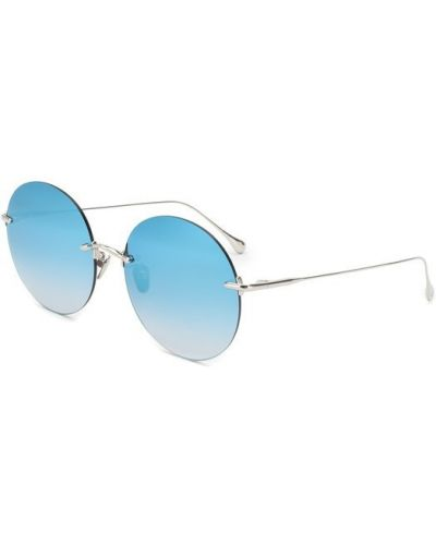 Голубые солнцезащитные очки Frency&mercury