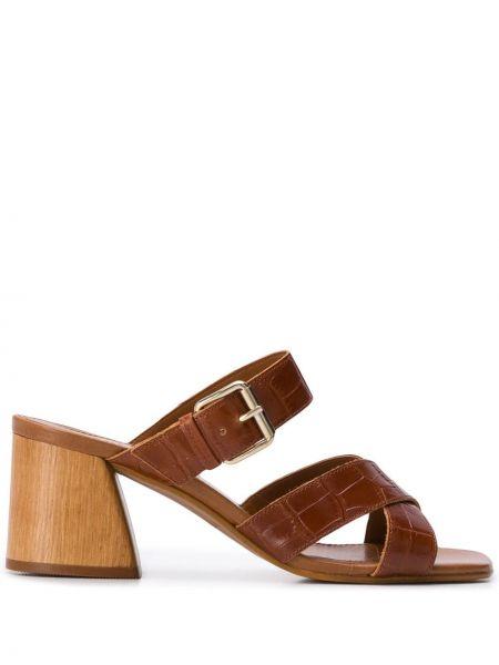 Sandały skórzany piasek Carvela