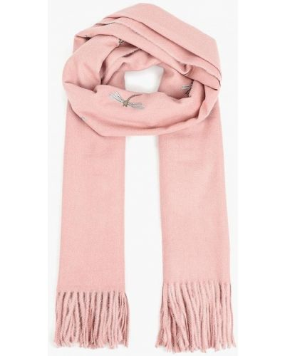 Розовый палантин Vitacci