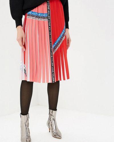 Плиссированная юбка весенняя Pinko
