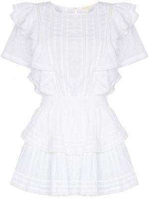 Платье мини короткое - белое Loveshackfancy
