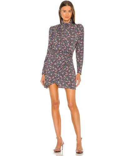 Трикотажное платье - фиолетовое Ronny Kobo