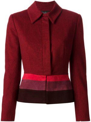 Кожаная куртка красная Jean Louis Scherrer Pre-owned