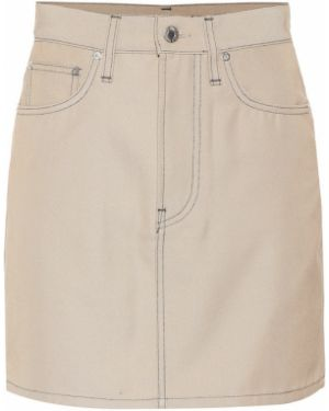 Юбка мини джинсовая пачка Helmut Lang