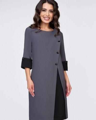 Деловое платье для офиса на пуговицах Belluche