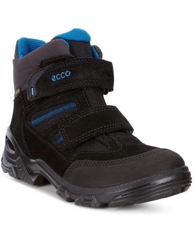 Ботинки замшевые мембранные Ecco