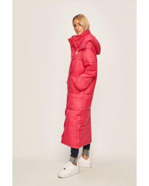 Куртка с капюшоном с карманами утепленная Fila