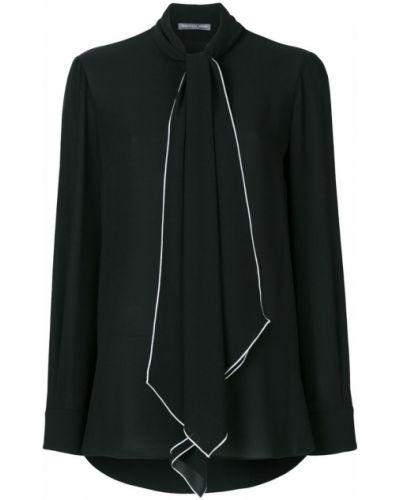 Блузка с длинным рукавом на кнопках на пуговицах Alexander Mcqueen