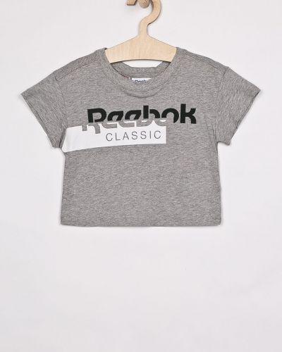 Футболка серая эластичная Reebok Classic