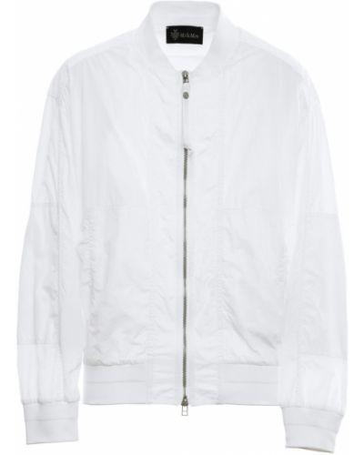 Biała kurtka z nylonu Mr&mrs Italy