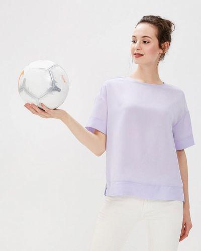 Блузка осенняя фиолетовый Befree