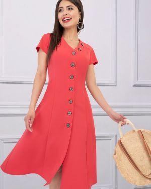 Платье с V-образным вырезом платье-сарафан Charutti