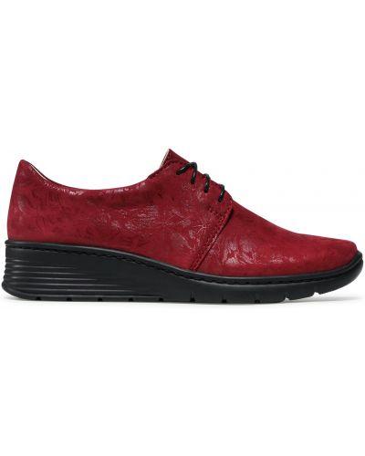 Туфли - бордовые Waldi