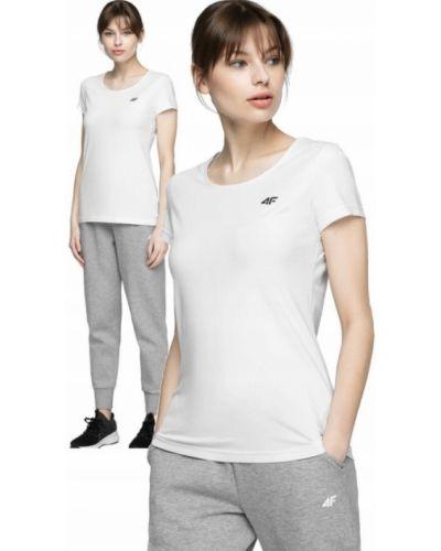 Bawełna biały bawełna t-shirt 4f