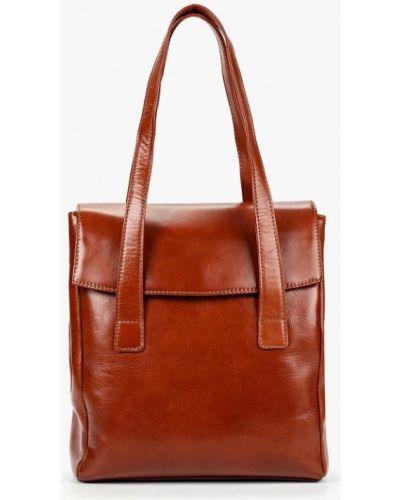 Кожаная сумка шведский коричневый Kofr