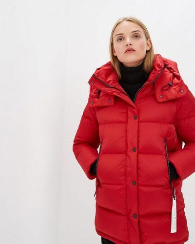 Зимняя куртка осенняя красная Soia & Kyo