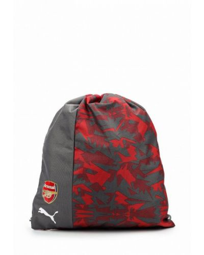 Красная сумка мешок Puma
