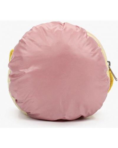 Текстильный розовый футляр для очков United Colors Of Benetton