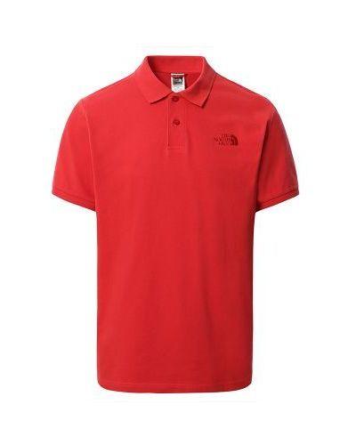 Czerwona t-shirt bawełniana The North Face