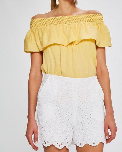 Белые шорты Answear