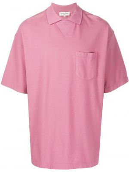 Koszula krótkie z krótkim rękawem prosto różowy Ymc