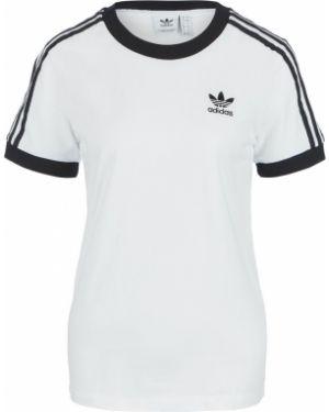 Футболка белая футбольный Adidas Originals