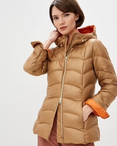Утепленная куртка золотая Iblues