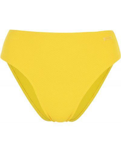 Желтый купальник с завышенной талией Joss
