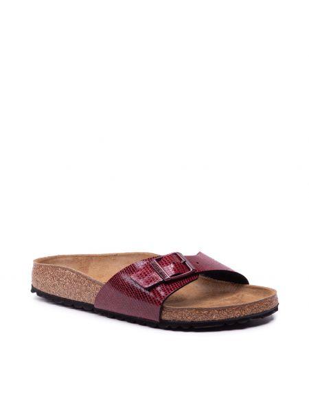 Sandały casual - bordowe Birkenstock
