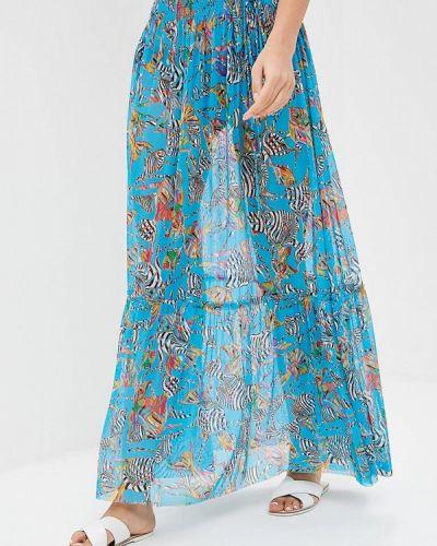 Бирюзовая юбка весенняя Charmante