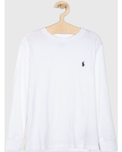 T-shirt elastyczny biały Polo Ralph Lauren