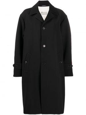 Пальто оверсайз - черное Maison Margiela