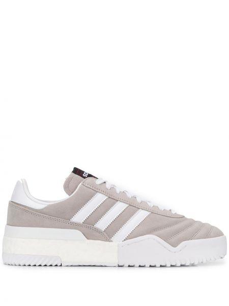 Серые кроссовки на шнуровке Adidas Originals By Alexander Wang