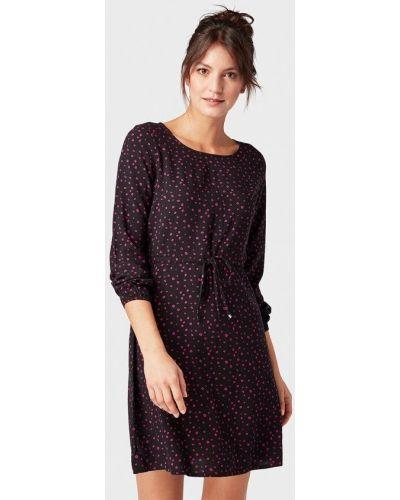 Фиолетовое джинсовое платье Tom Tailor Denim