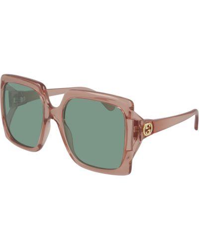 Okulary z printem - białe Gucci