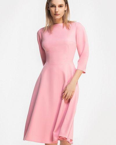 Розовое платье весеннее Grass