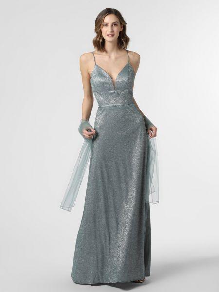 Sukienka wieczorowa, zielony Luxuar Fashion