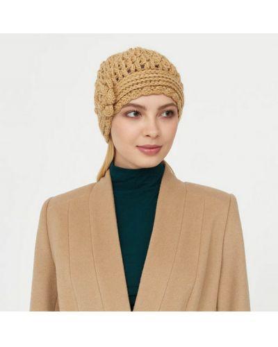 Бежевая шапка шерстяная Sabellino