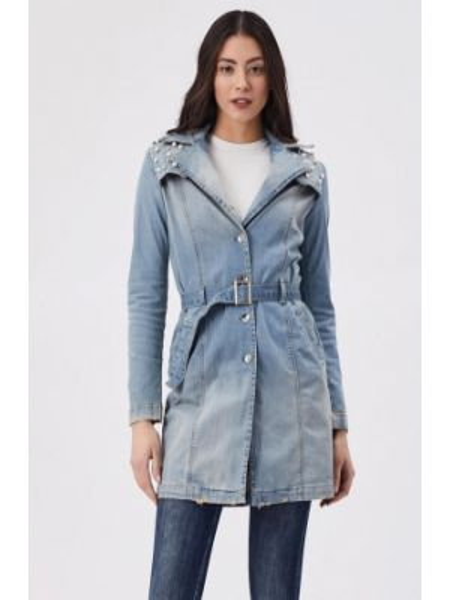 Джинсовая куртка весенняя D'she