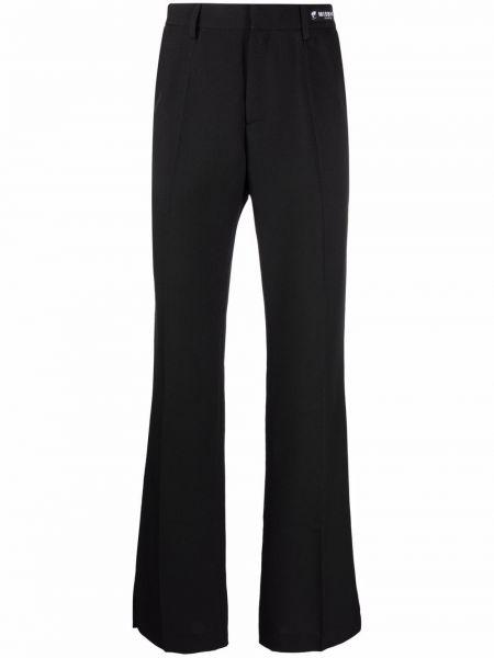 Czarne spodnie z paskiem Misbhv
