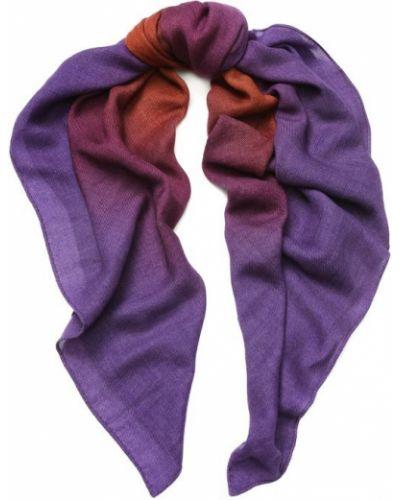 Фиолетовая шаль Loro Piana