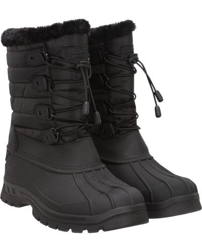 Czarne śniegowce Mountain Warehouse