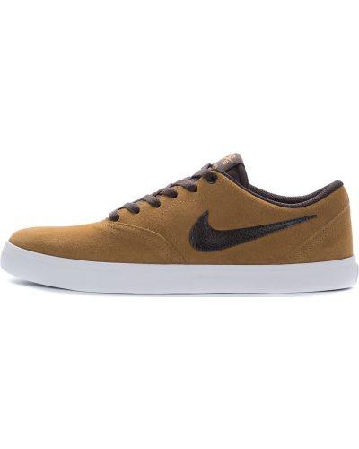 Кеды скейтбордические на шнуровке Nike