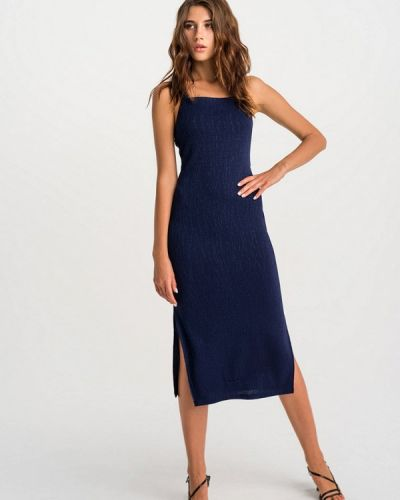 Синее вечернее платье Befree