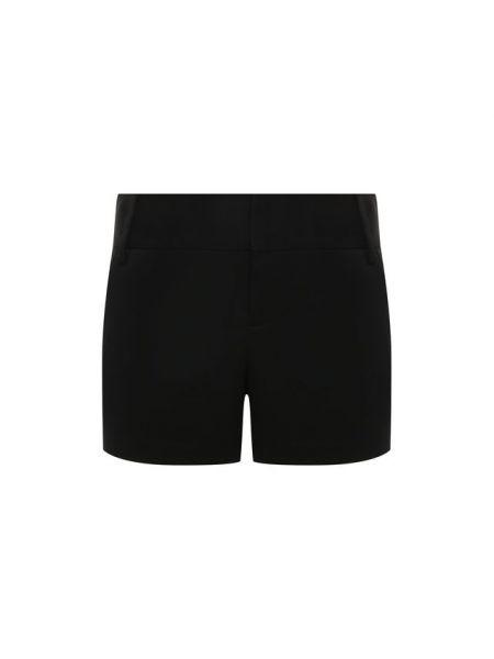 Короткие шорты черные на шпильке Alice + Olivia