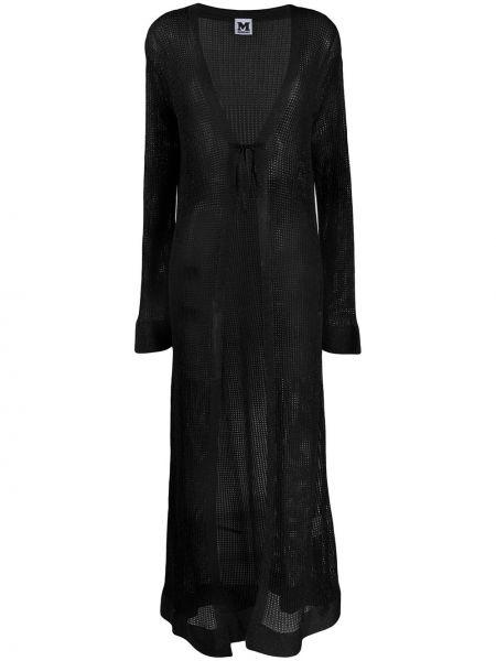 Черное длинное пальто M Missoni