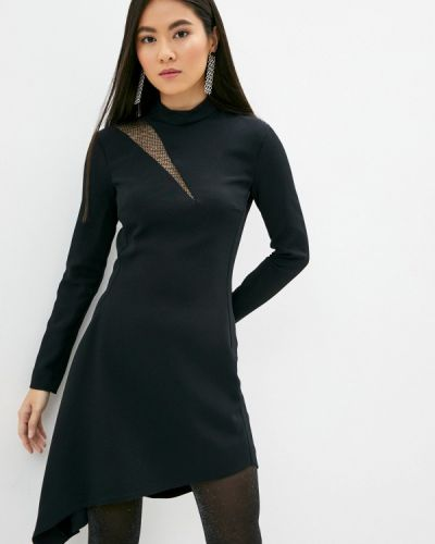 Черное платье-футляр Just Cavalli