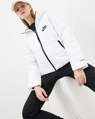 Утепленная куртка - белая Nike
